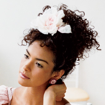 2012 Black and African American Wedding Hairstyles  2