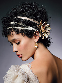 2012 Black and African American Wedding Hairstyles  6