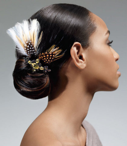 2012 Black and African American Wedding Hairstyles 7