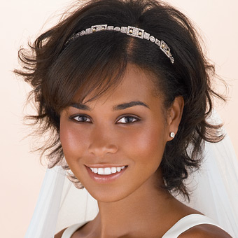 2012 Black and African American Wedding Hairstyles