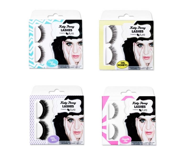 Fashion Trend Seeker: Katy Perry's Eylure Eyelash Collection