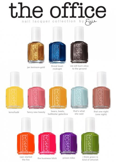 Sneak Peak - Essie The Office Collection for Fall 2012 - Fashion ...