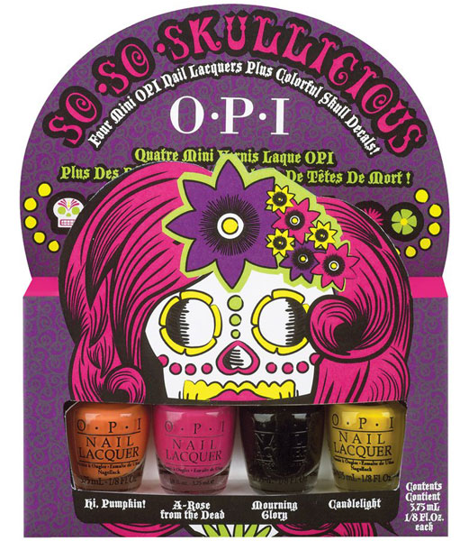 2012 OPI Halloween Nail Polish Collection – So So Skullicious
