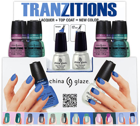 China Glaze Tranzitions Collection for Winter 2012