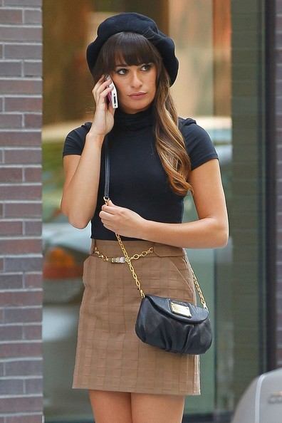 Lea Michele Starts The New Season Of ''Glee