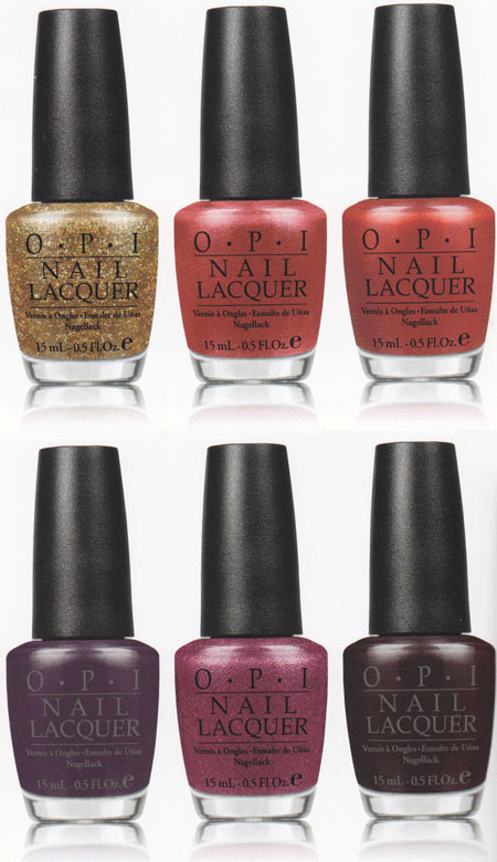 OPI 2012 Holiday Collection – Skyfall James Bond 50th Anniversary Collection