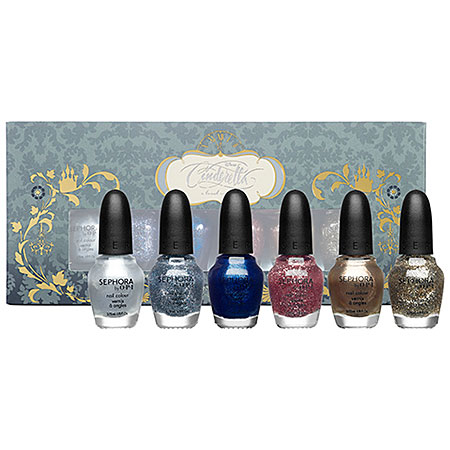 Sephora's Disney Cinderella Collection – A Brush With Fate Nail Polish Set