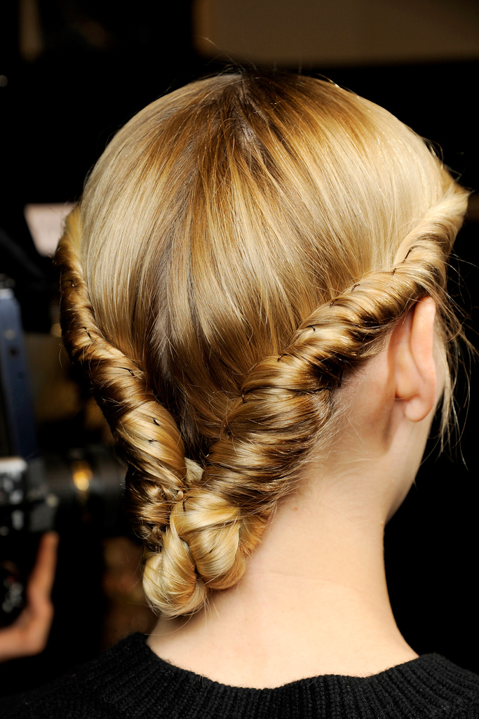 Chic Updo Ideas For Fall 2012 Hair Trends
