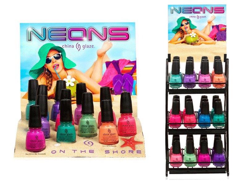 China Glaze 2013 Summer Neons On The Shore Nail Polish ...
