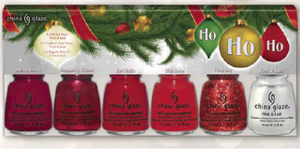 China Glaze Holiday 2012 Gift Sets