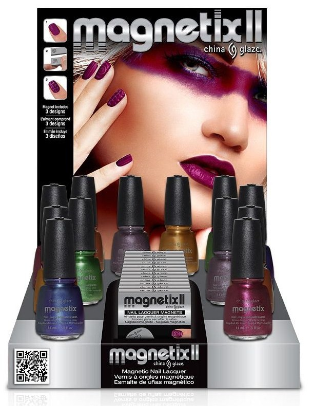 China Glaze Magnetix II Collection