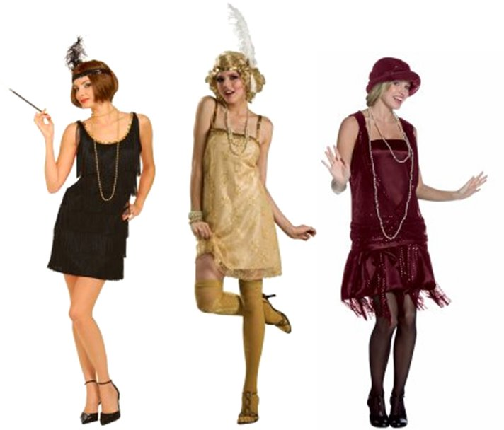 DIY Halloween Costume Idea - Flapper Girl