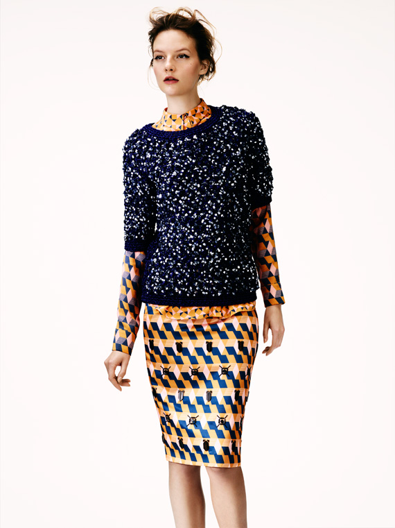 H&M Winter 2012 Lookbook for Women and Men
