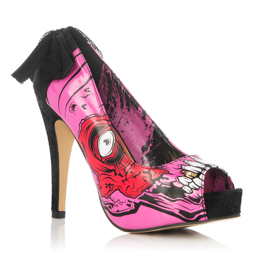Iron First Gives Just Fab A Halloween Shoe Makeover