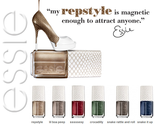 Essie Repstyle Magnetic Snake Effect Nail Polish Collection – Essie Holiday 2012 Collection