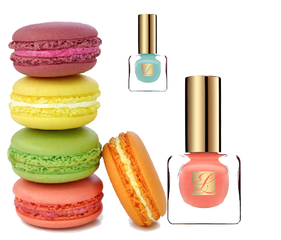 Estee Lauder Spring 2013 Paris Macarons Pure Color Nail Polish Collection