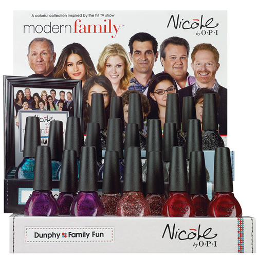 Nicole by OPI Spring 2013 Modern Family Nail Polish Collection
