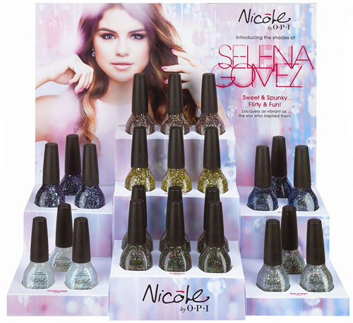 Selena Gomez for Nicole by OPI Spring 2013 Nail Polish Collection