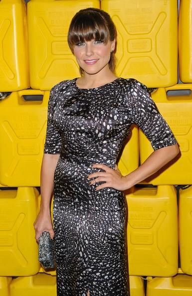 Sophia Bush Adds Fringe Bangs To Her Brunette Locks 2