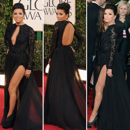 2013 Golden Globe Awards Fashion – Lace Gowns