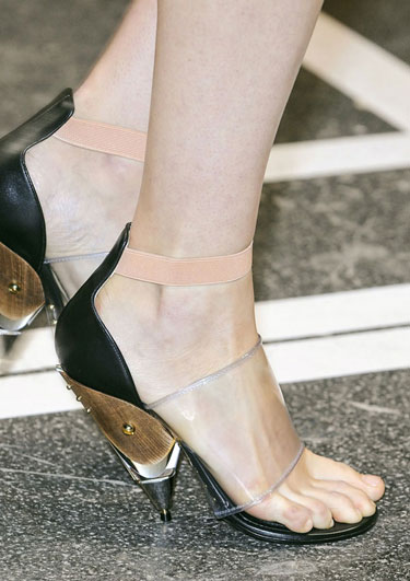 2013 Spring and Summer Footwear, Sandal and Shoe Trends