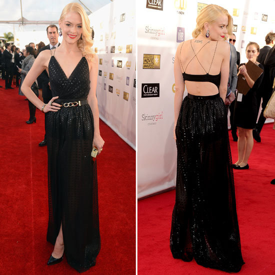 Look Who's Bringing Sexy Back ( Backless Gowns ) From the 2013 Critics Choice Awards