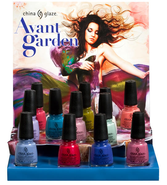 China Glaze Avant Garden Spring 2013 Nail Polish Collection
