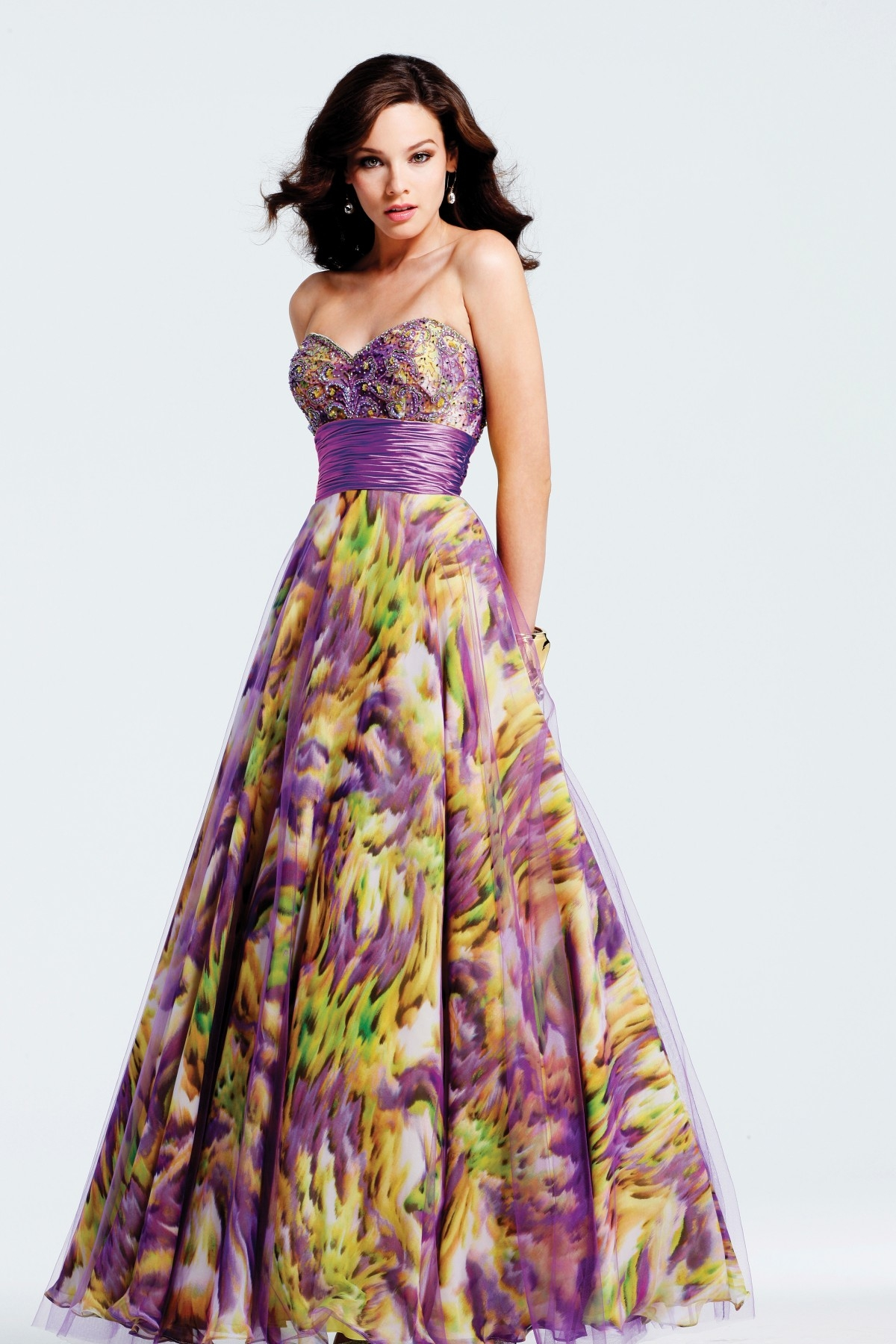 2013 Prom Dress Trends Printed Dresses