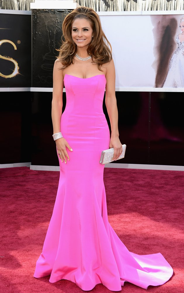 85th Annual Academy Awards Dresses – Strapless Gowns ...