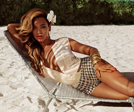 First Look – Beyoncé for H&M Summer 2013 Ad Campaign