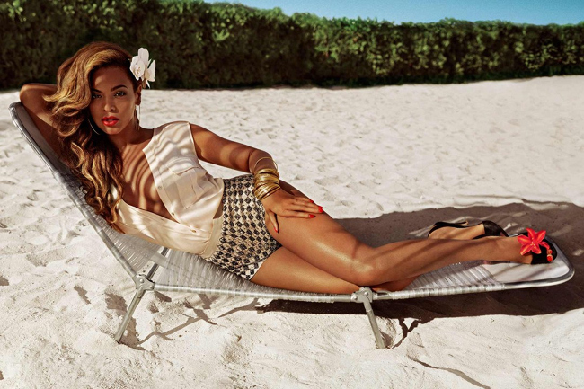 Fashion Trend Seeker: Beyoncé For H&M Summer 2013 Full Ad Campaign