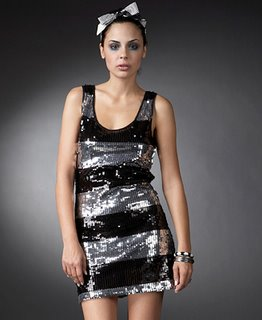 Fashion Trend Seeker Shop – Forever 21 Black and Silver Sequin Dress