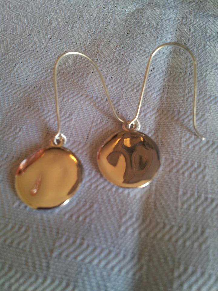 Chloe + Isabel Paillette Linear Drop Earrings 2