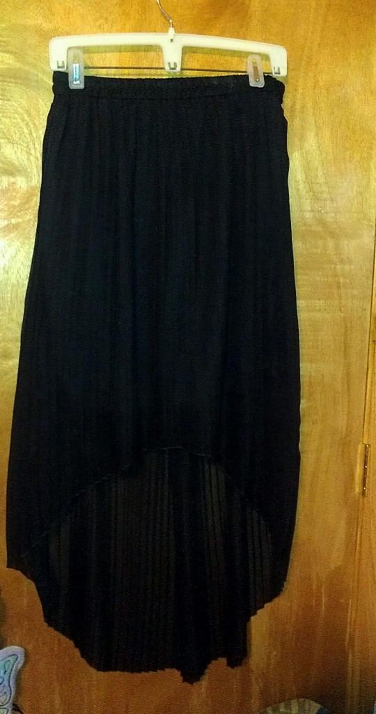 Forever 21 Black High - Low Skirt 4