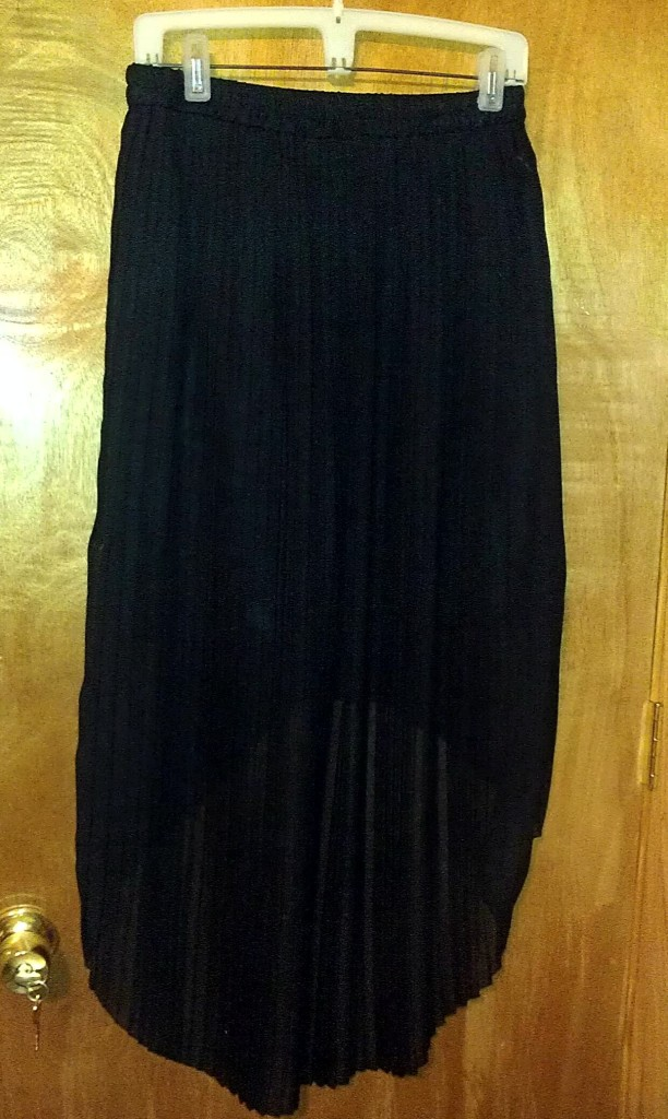 Forever 21 Black High - Low Skirt