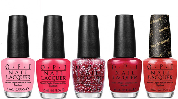 OPI Summer 2013 Couture de Minnie Collection 2