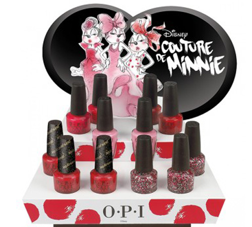 OPI Summer 2013 Couture de Minnie Collection