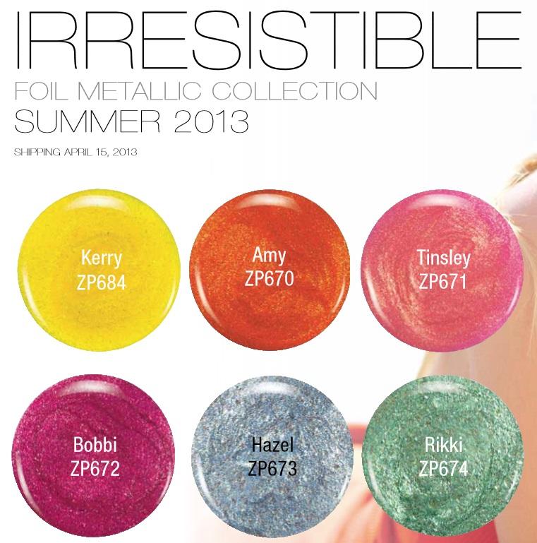 Zoya 2013 Stunning & Irresistible Nail Polish Collections 4