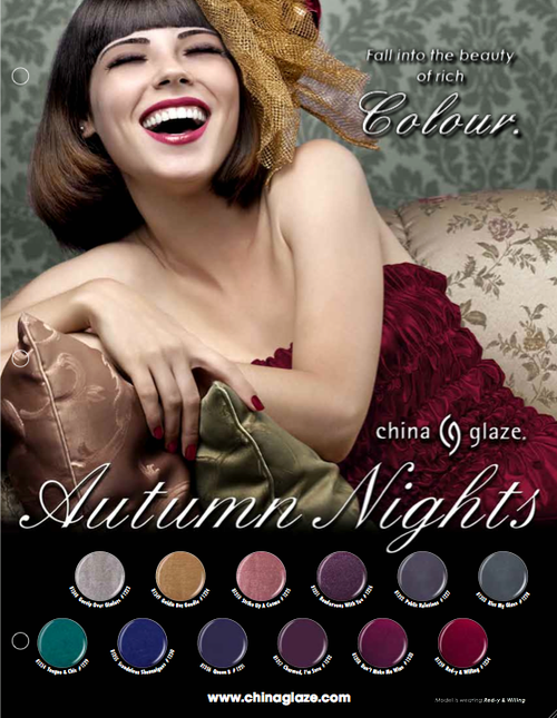 China Glaze Fall 2013 Nail Polish Collection - Autumn Nights