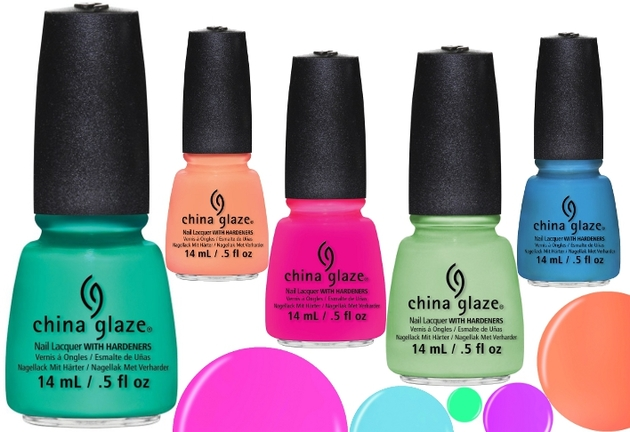 China Glaze Sunsational Summer 2013 Nail Polish Collection