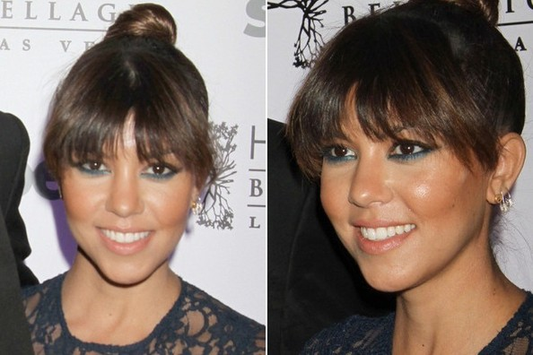 Do You Love Kourtney Kardashian With Bangs 3