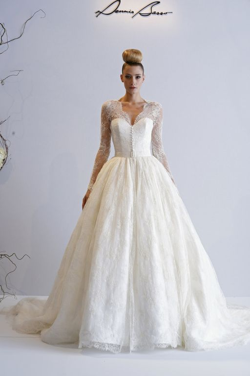 2013 Fall and  2014 Winter Wedding Dress Trends 3