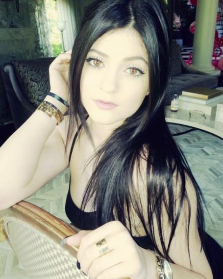 Kylie Jenner Gets Darker Strands - See Her New Black Hair Color