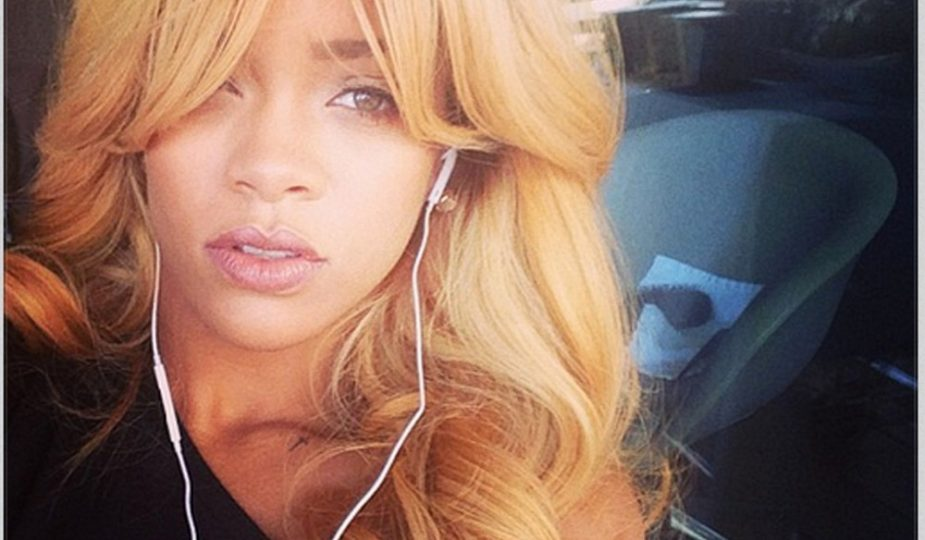 Rihanna Goes Fully Blonde With Bangs And All Fashion