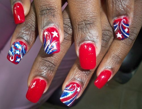 4th Of July Nail Polish & Nail Art Ideas For You To Try 10