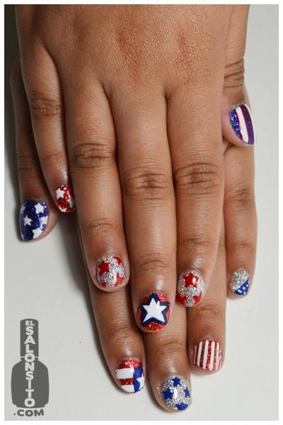 4th Of July Nail Polish & Nail Art Ideas For You To Try 2