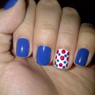 4th Of July Nail Polish & Nail Art Ideas For You To Try 4