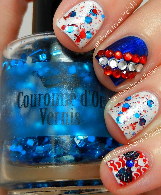 4th Of July Nail Polish & Nail Art Ideas For You To Try 5