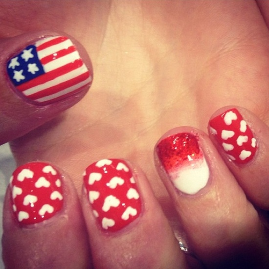 4th Of July Nail Polish & Nail Art Ideas For You To Try 7
