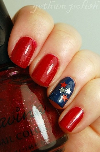 4th Of July Nail Polish & Nail Art Ideas For You To Try 8